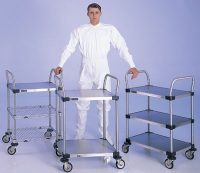 Metro cleanroom trolleys