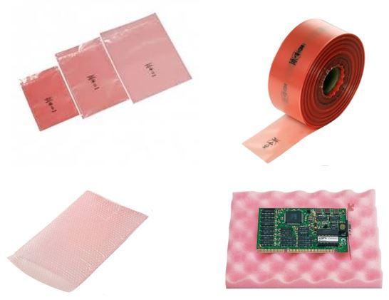 Roze zakken