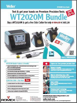 Weller WT2020 promotie 2019