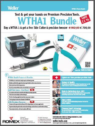 Weller WTHA1 promotie bundel